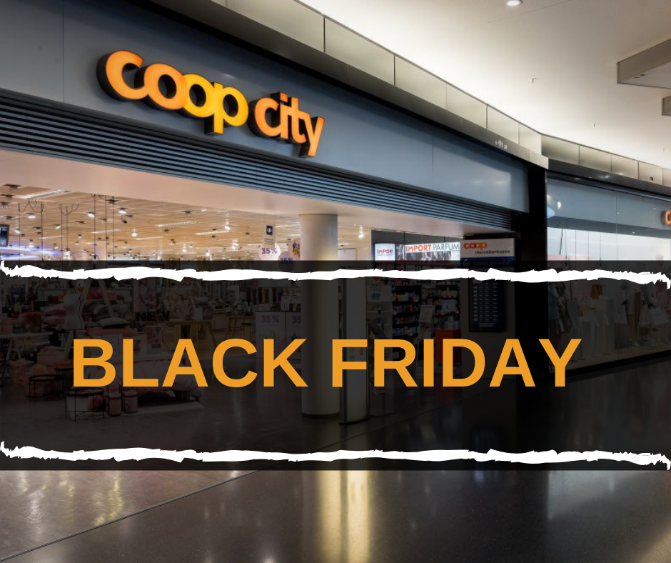 Black Friday bei Coop City