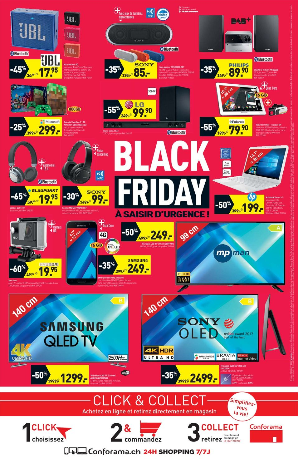 Conforama Black Friday Prospekt