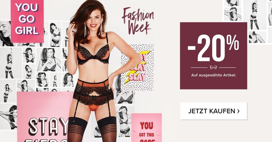Hunkemöller Aktion BLack Friday