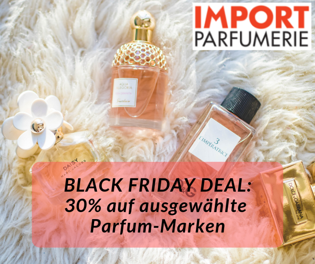 Import Parfumerie Black Friday