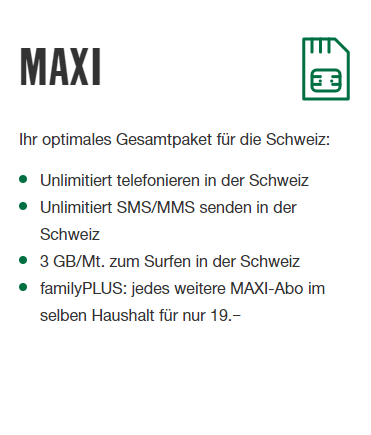M-Budget Mobile Maxi
