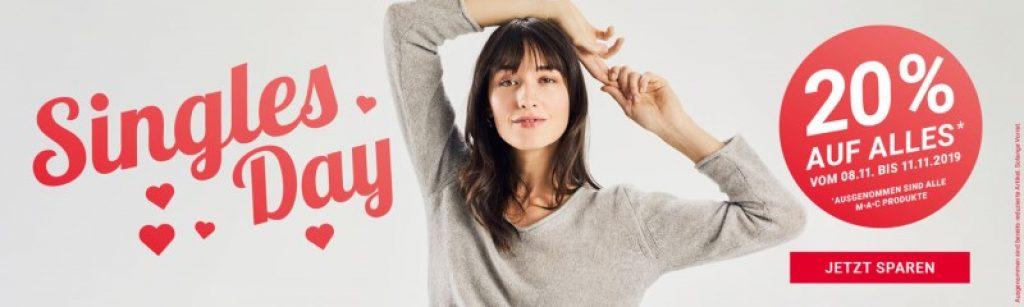 Singles Day Aktion 20% Import Parfumerie BlackFridaySchweiz.ch
