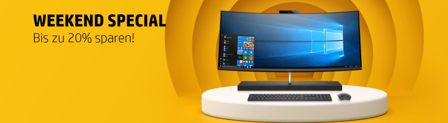 HP Store Weekend Special 20 Prozent