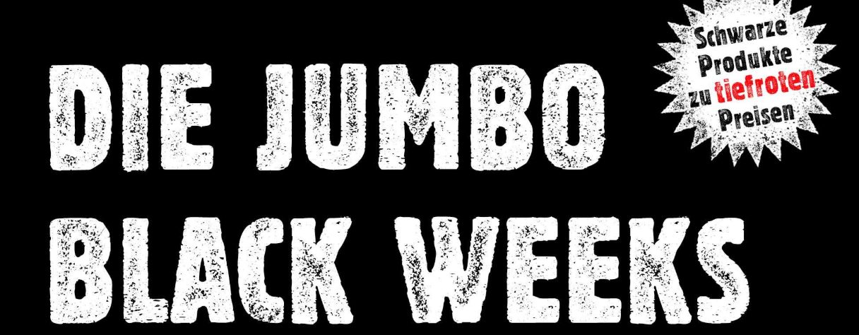 Jumbo Black Weeks Aktion 2019