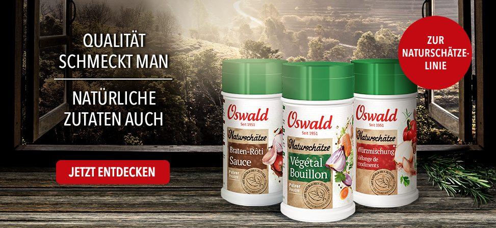 Oswald Gewürze Naturschätze