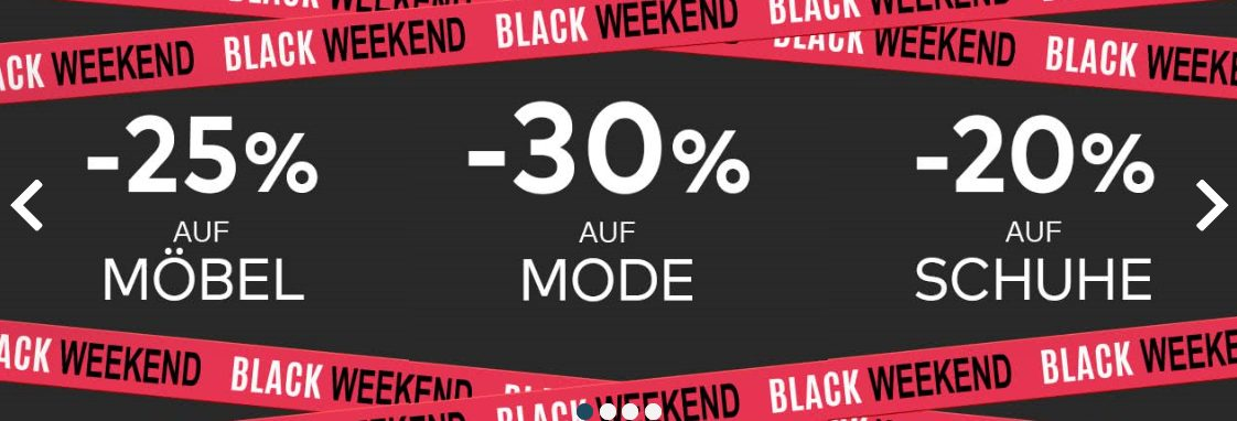 Quelle Black Friday Rabatte 2019