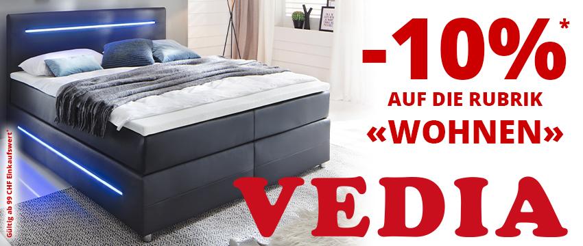 Vedia Black Friday 2019 10 Prozent auf Wohnen