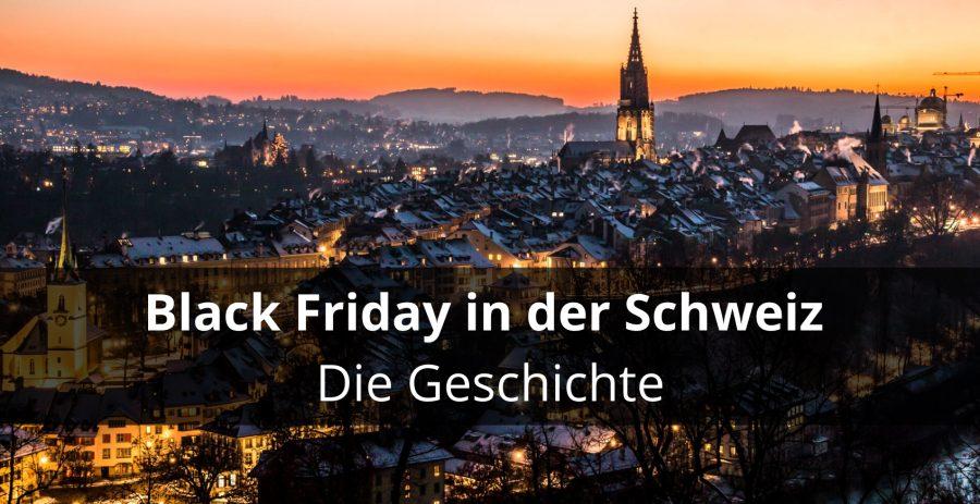 Geschichte des Black Friday in der Schweiz